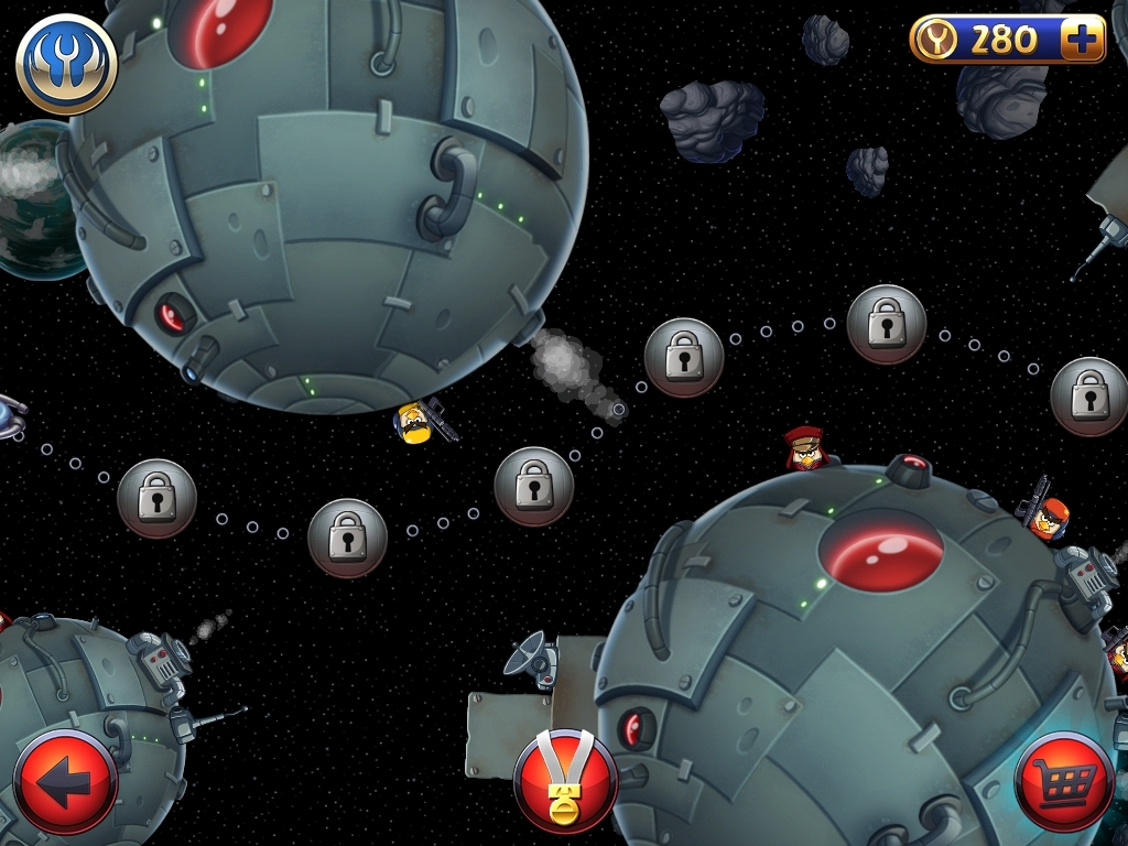 For Angry Birds Star Wars II on the iOS (iPhone/iPad), GameFAQs has 98 cheat codes and secrets.
