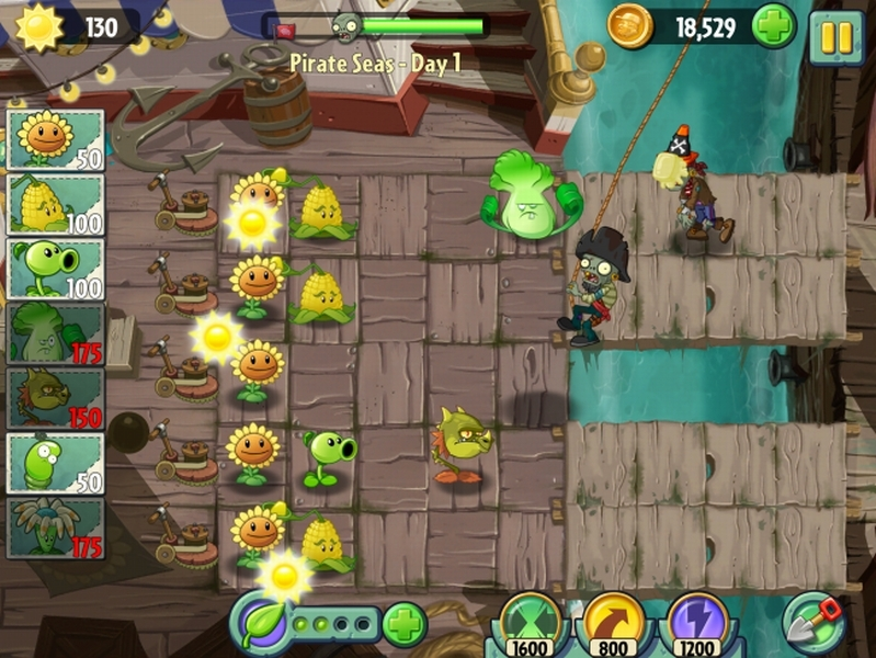pflanzen gegen zombies 2 neue infos bilder und videos zu plants vs zombies 2. Black Bedroom Furniture Sets. Home Design Ideas