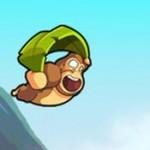 Banana Kong Spieletest: Affe auf der Flucht vor Bananen
