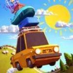 Sunny Hillride Spieletest: Mit dem Auto über Berg und Tal