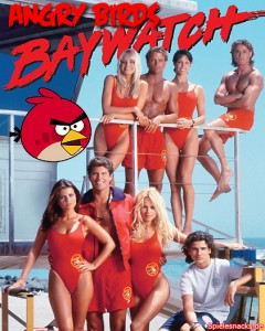 Angry Birds Baywatch