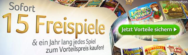 Vorteilsangebot bei Deutschland-Spielt.de