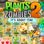 Spielesnacks.de Highlight // Spieletest zu Plants vs Zombies 2 – It's about time: Die Zombies wollen dein Geld