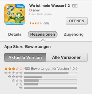 Wo ist mein Wasser 2 iTunes