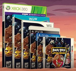Angry Birds Star Wars für Xbox 360, Wii U, Wii, PS3, PS Vita und Nintendo 3DS