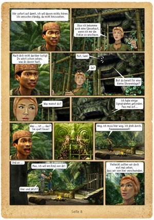 Geheimakte Sam Peters Comic