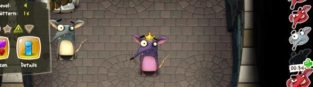 Die Ratten: kostenloses Browsergame