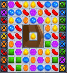 Candy Crush Saga Level 45