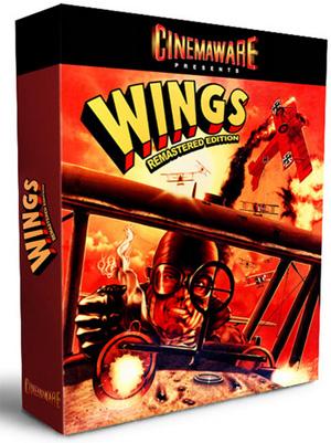 So könnte die Verpackung der Wings Remastered Edition aussehen, wenn es erscheint.