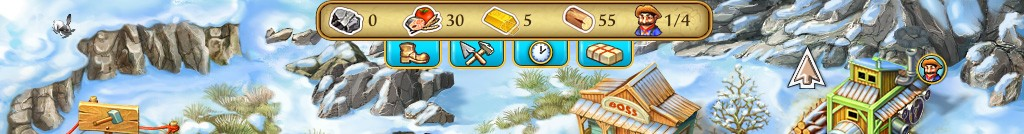 Im Laufe des Spiels gibt es immer mehr Boni. Der letzte ist am sinnvollsten, denn das Rohstoff-Paket kann den Spielverlauf retten, wenn man falsch investiert hat.