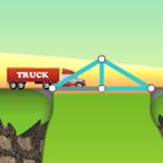 Kostenloses Onlinespiel: Baue in Bridge Builder sichere Brücken