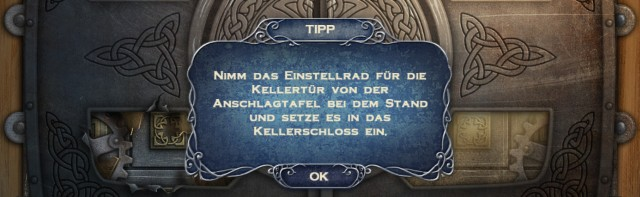 Im leichten Modus des Spiels lassen sich immer wieder Tipps anzeigen.