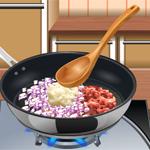 Lasagna – Sara's Cooking Class: Lerne in dem kostenlosen Onlinespiel das Zubereiten von Lasagne
