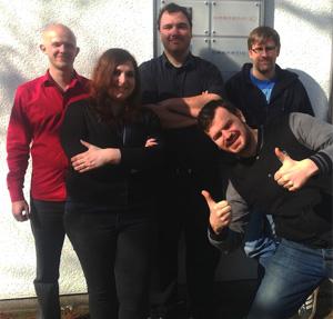 Diese fünf gewitzten Entwickler von Crenetic standen uns im Interview Rede und Antwort.