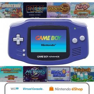 GBA-Spiele für die Wii U. (Foto: Nintendo)