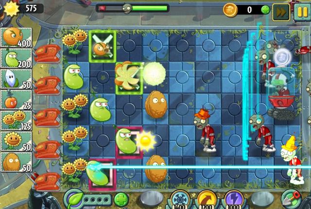 Der erste Screenshot des Far Future-Updates für Plants vs Zombies 2.