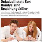 Quizduell statt Sex – stimmt das?