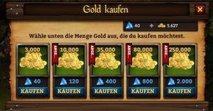 Gold in KingsRoad zu kaufen, kann ganz schön teuer werden. Unsere Tipps & Tricks zeigen dir, wie du das hinauszögern kannst.