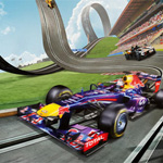 Red Bull Racers Spieletest: Carrera Rennbahn auf Energy Drink