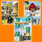 Gewinnspielpaket mit Flappy Bird HD, Angry Birds Rio und Hugo Retro zu gewinnen