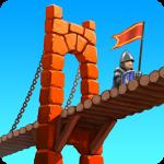 Bridge Constructor Mittelalter Spieletest: Spaßiger Brückenbau in der Vergangenheit