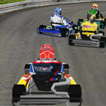 Go Kart 3D Onlinespiel: Im Browser gekonnt durch die Kurven heizen