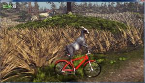 goat simulator fahrrad