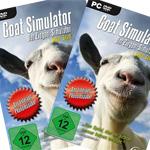 Goat-Simulator Gewinnspiel: Den Ziegen-Simulator mit tollen Goodies absahnen