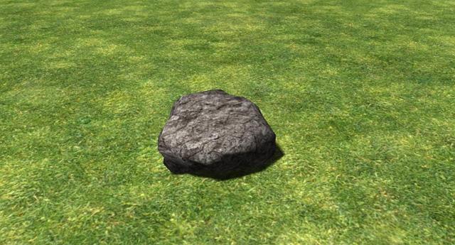 Ein erster Screenshot aus Rock Simulator 2014. Spannend, oder?