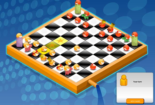 Smiley Chess ist eine bunte und fröhliche Variante von Schach.