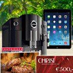 Gewinnspiel-Tipp: iPad, Erlebnis-Gutscheine, Kaffeeautomat und mehr zu gewinnen