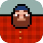 Timberman Spieletest: Du wirst bei diesem Flappy Bird-Konkurrenten den Wald vor lauter Ästen nicht mehr sehen!