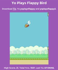 yoplaysflappybird