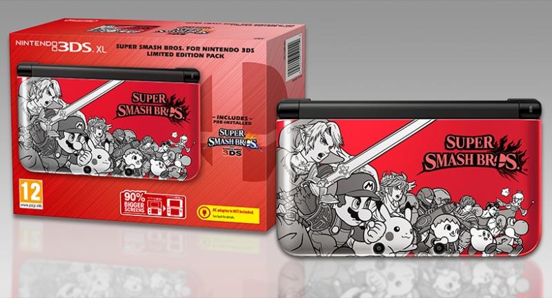 Super Smash Bros 3DS XL