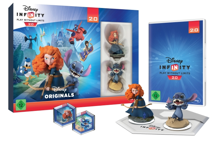 Disney Infinity 2.0 Combo Set