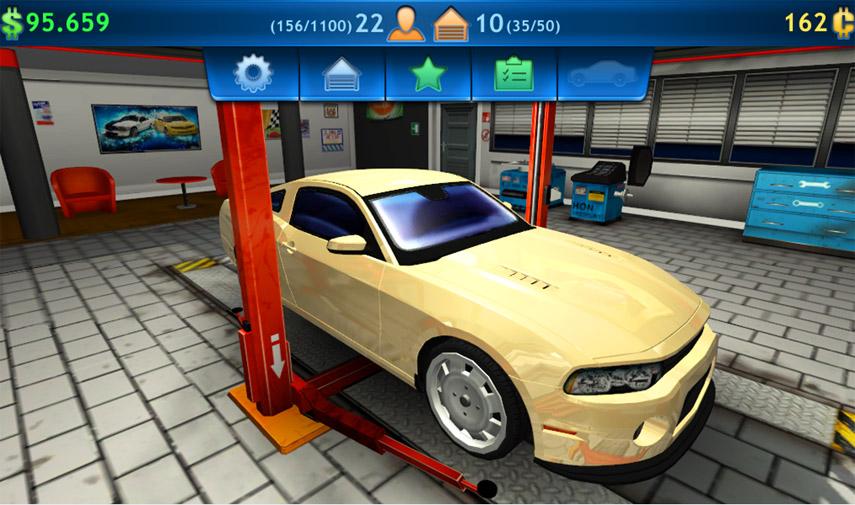 Der Car Mechanic Simulator 2014 Mobile ist eine optisch gelungene Umsetzung der PC-Fassung.