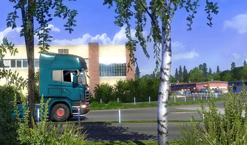 Euro Truck Simulator 2 - Skandinavien Add-On