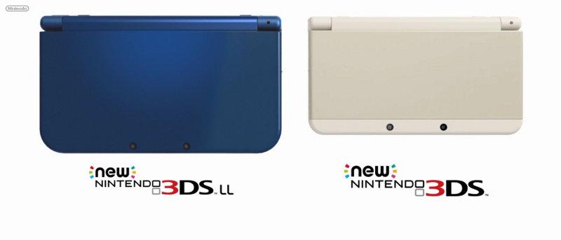 Heimlich, still und leise kündigt Nintendo den New 3DS(XL) an.
