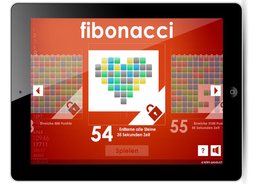 Das Schöne an Fibonacci ist, dass du es überall spielen kannst. Auch auf deinem iPhone und iPad.