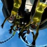 Screamride für Xbox One und Xbox 360: Spektakuläre Achterbahnen bauen und zerstören!