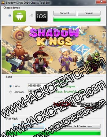 Der Shadow Kings Hack Creator: Wir raten dir vom Einsatz solcher Software ab!
