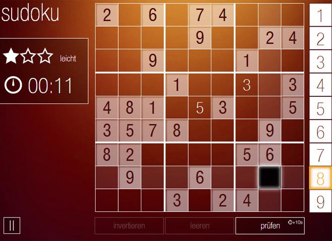 sudoku gratis spielen