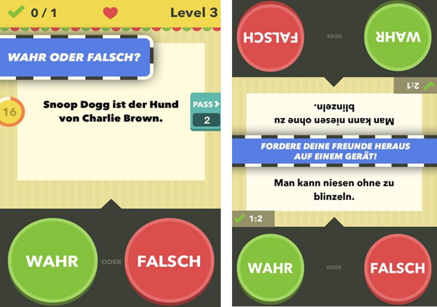 Wahr Oder Falsch Online Spielen