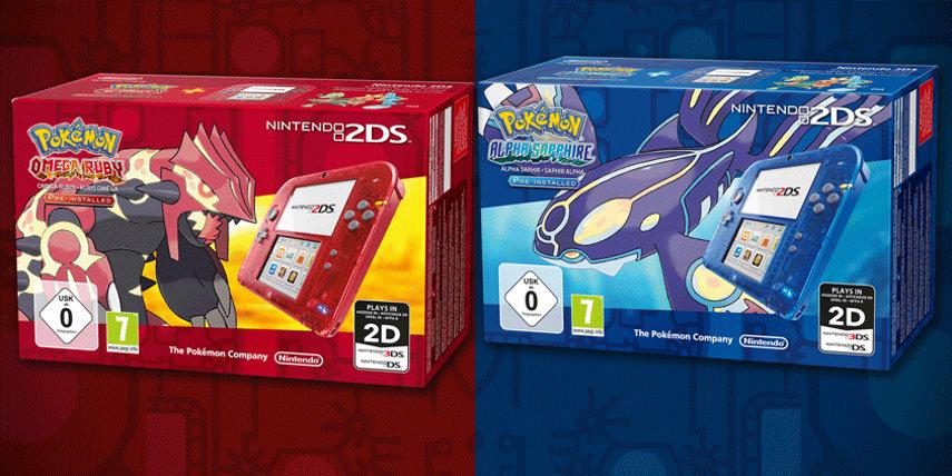 Ab dem 28. November stehen dir die transparenten 2DS-Modelle dann auch mit den kommenden Pokémon-Titeln als Bundle zur Verfügung.