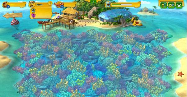 In Zukunft soll es Herausforderungen in Farmerama geben. Das Korallenriff wird die erste sein.