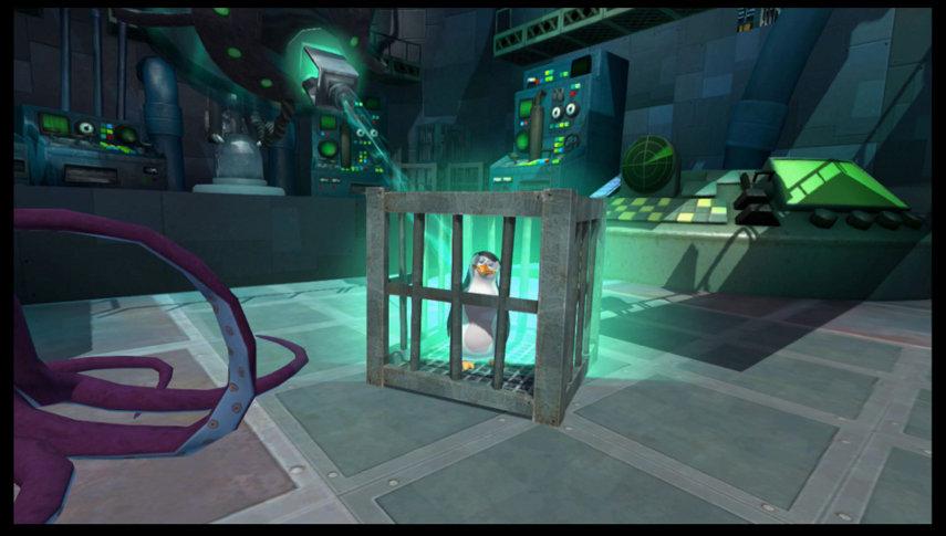 Pinguin im Käfig. Hoffentlich kann er aus seinem Gefängnis entkommen, damit dem Auftritt auf Wii U und 3DS nichts im Wege steht.