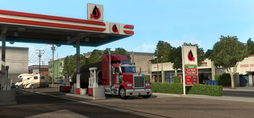 Der American Truck Simulator sieht echt schnieke aus. Findest du nicht auch?