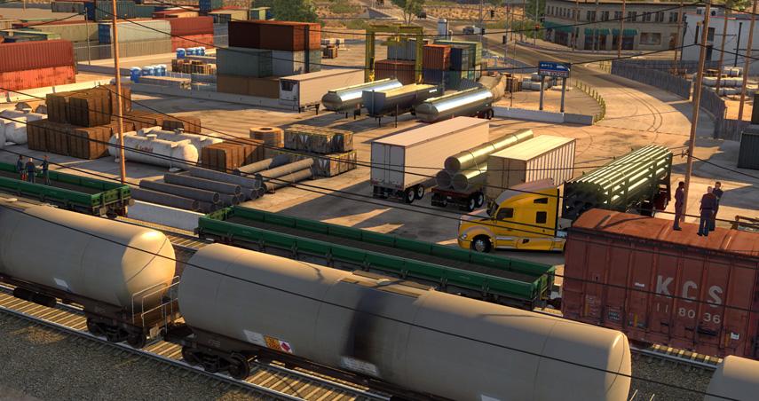 Obwohl uns die Termin-Verschiebung des American Truck Simulator traurig stimmt, so können wenigstens die neuen Bilder etwas gute Stimmung zaubern.