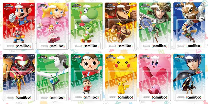 Das sind die ersten 12 Amiibo-Figuren, die du zum Start kaufen können wirst.