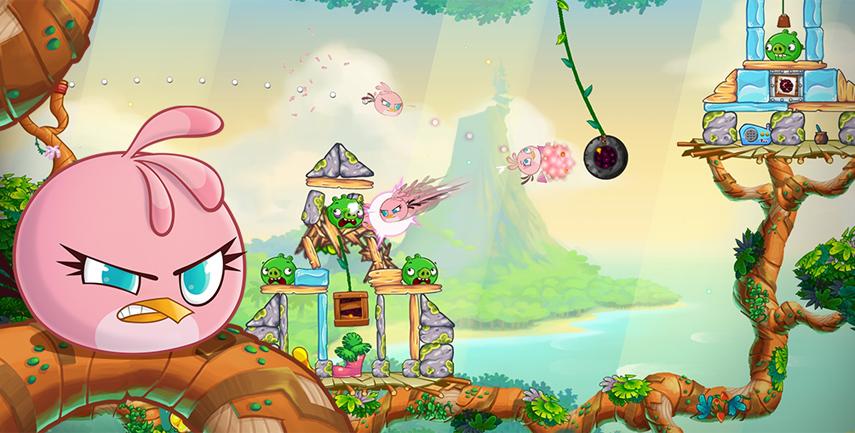 """Das neueste Angry Birds-Spiel setzt auf altbekannte Mechaniken. Trotzdem fällt es nicht gerade leicht aus. Hier wäre etwas """"illegale"""" Hilfe ganz nützlich."""